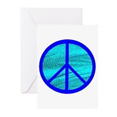 BLUE VELVET PEACE™ Greeting Cards (Pk of 20)