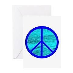 BLUE VELVET PEACE™ Greeting Card