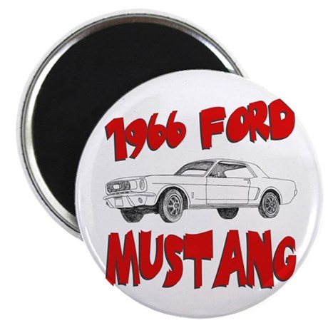 1966 Ford Mustang Magnet