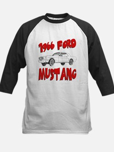 1966 Ford Mustang Kids Baseball Jersey