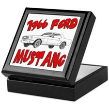 1966 Ford Mustang Keepsake Box