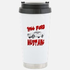 1966 Ford Mustang Stainless Steel Travel Mug