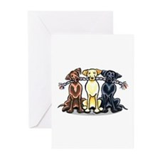 Lab Rope Greeting Cards (Pk of 10)