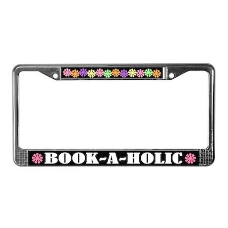 Book A Holic License Frame
