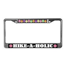 Hike A Holic License Frame