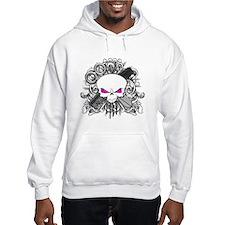 Hairdresser Pirate Skull Hoodie
