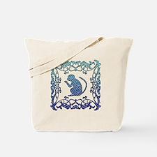 Monkey Lattice Tote Bag