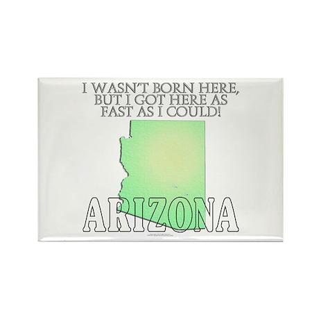 Got here fast! Arizona Rectangle Magnet (10 pack)