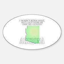 Got here fast! Arizona Decal