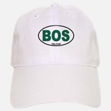 (BOS) Celtics Euro Oval Baseball Baseball Cap