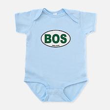 (BOS) Celtics Euro Oval Infant Bodysuit