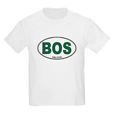 (BOS) Celtics Euro Oval T-Shirt