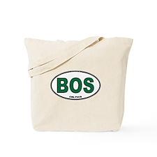 (BOS) Celtics Euro Oval Tote Bag