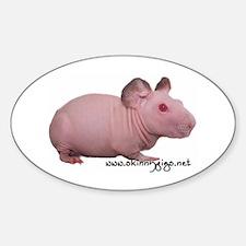 Skinny Pig Decal