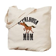 Red Roan Appaloosa Horse Tote Bag