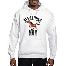 Red Roan Appaloosa Horse Hoodie