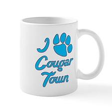 I Love Cougar Town Mug