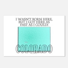 Got here fast! Colorado Postcards (Package of 8)