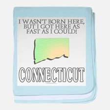 Got here fast! Connecticut baby blanket