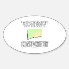Got here fast! Connecticut Decal