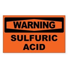 SULFURIC ACID Decal