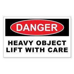 HEAVY OBJECT Decal