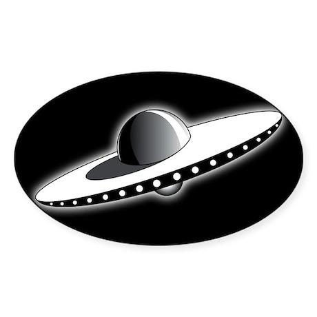 Classic UFO Sticker
