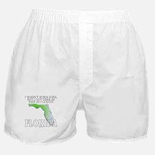Got here fast! Florida Boxer Shorts
