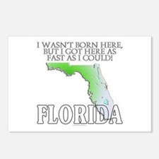 Got here fast! Florida Postcards (Package of 8)