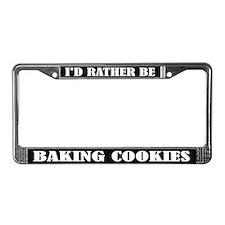 Baking Cookies License Frame