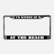 At the Beach License Frame