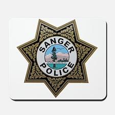 Sanger Police Department Mousepad