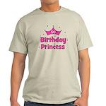 50th Birthday Princess! Light T-Shirt
