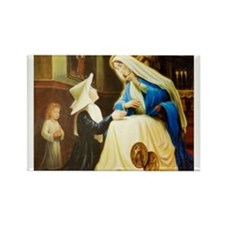 St.Catherine Laboure Rectangle Magnet