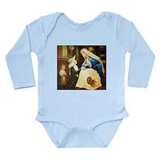 St.Catherine Laboure Long Sleeve Infant Bodysuit