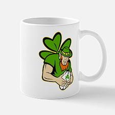 rish leprechaun rugby Mug