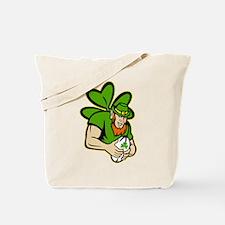 rish leprechaun rugby Tote Bag