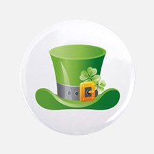"""St. Patrick's Day 3.5"""" Button"""