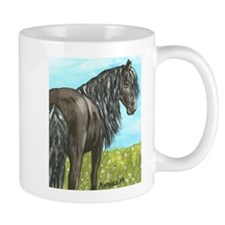 FRIESIAN HORSE PAINTING Mug