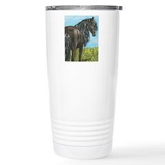 FRIESIAN HORSE PAINTING Travel Mug