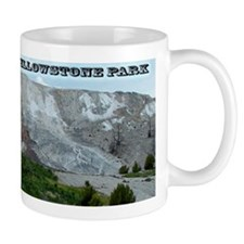 Jupiter Terrace, Yellowstone Park Mug