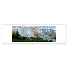 Jupiter Terrace, Yellowstone Park Bumper Sticker