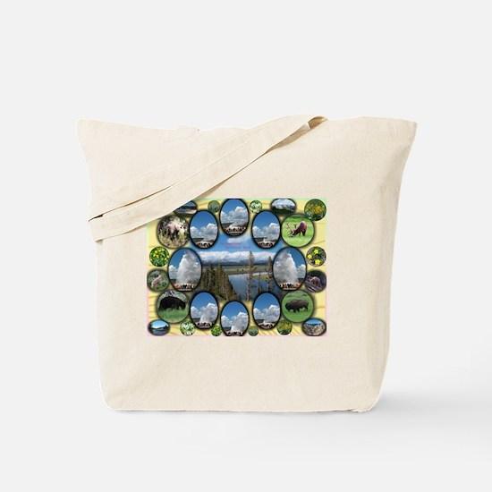 Yellowstone Park Tote Bag