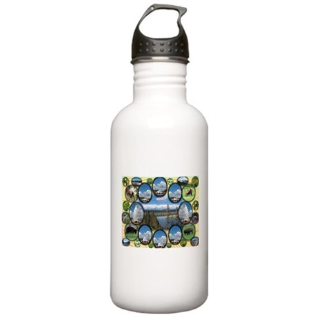 Yellowstone Park Stainless Water Bottle 1.0L