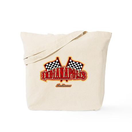 Indianapolis Flagged Tote Bag