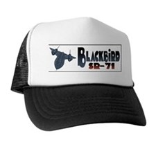 Cute Sr 71 blackbird Trucker Hat