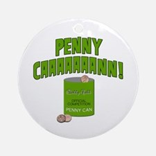 Penny Can Ornament (Round)