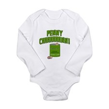 Penny Can Long Sleeve Infant Bodysuit