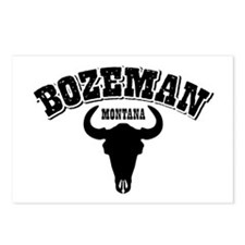 Bozeman Steer Postcards (Package of 8)