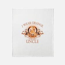 I Wear Orange for my Uncle (floral) Stadium Blank